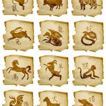 Los signos del Zodiaco en el horóscopo chino