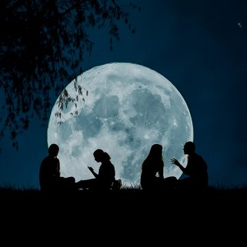 La energía de la luna en los signos de Fuego