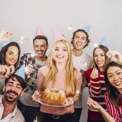 Las mejores fiestas de cumpleaños para los signos de Aire